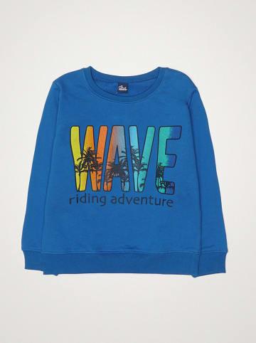 """Street MONKEY Bluza """"Surfing Time"""" w kolorze niebieskim"""