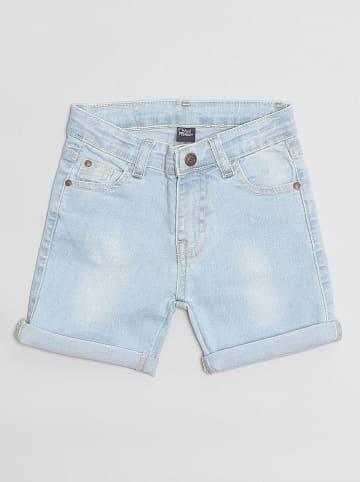 "Street MONKEY Jeansshorts ""Basics"" in Hellblau"