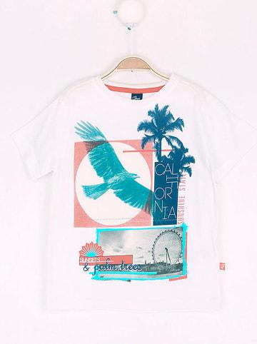 """Street MONKEY Shirt """"Sailing Team"""" in Weiß"""