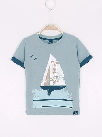 """Street MONKEY Shirt """"Balearic"""" in Grau"""
