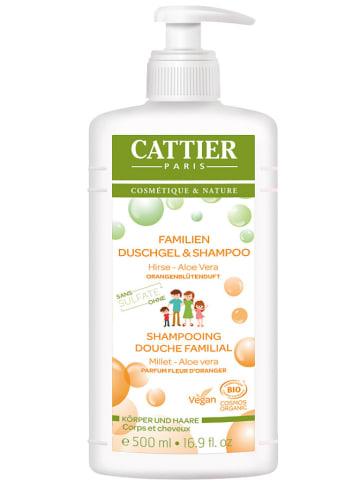"""CATTIER 2in1-Duschgel & Shampoo """"Familie Orangenblüte"""", 500 ml"""