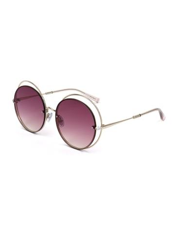 Max Mara Damen-Sonnenbrille in Gold/ Pink