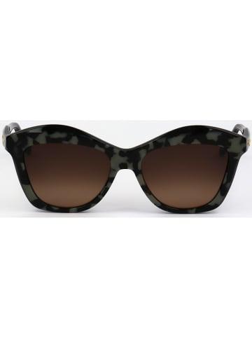 Salvatore Ferragamo Damen-Sonnenbrille in Schwarz/ Grau