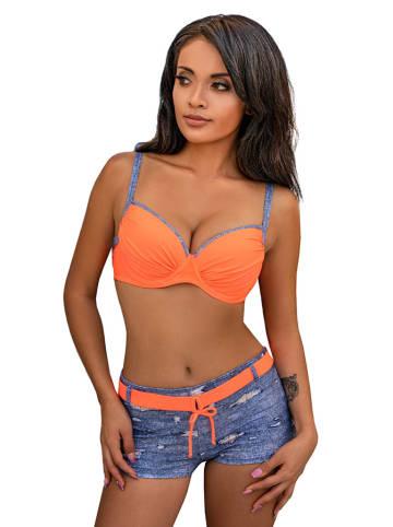 Verano Bikini blauw/oranje