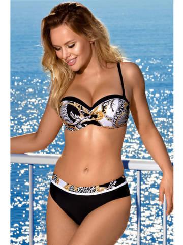 Aquarilla Bikini zwart/meerkleurig