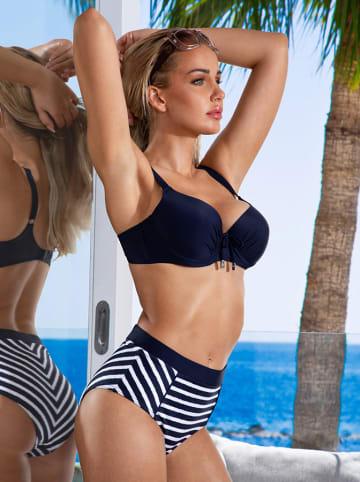 Aquarilla Bikini in Dunkelblau/ Weiß