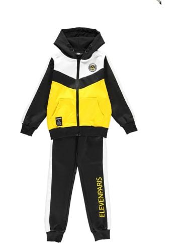 Little elevenparis. Dres sportowy w kolorze żółto-czarnym