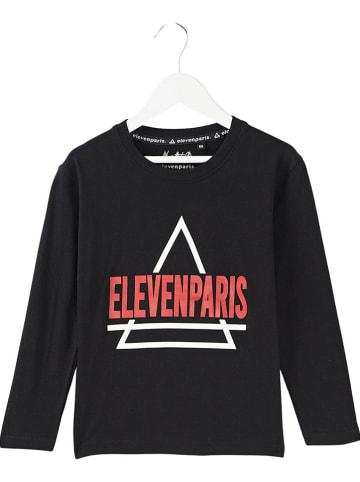Little elevenparis. Koszulka w kolorze czarnym