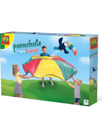 "SES 2-delige set: parachute-doek ""Vliegende Toekan"" - vanaf 3 jaar"