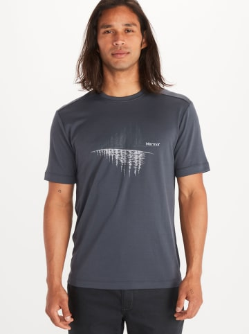"Marmot Functioneel shirt ""Leisure"" antraciet"