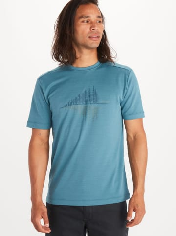 "Marmot Functioneel shirt ""Leisure"" blauw"