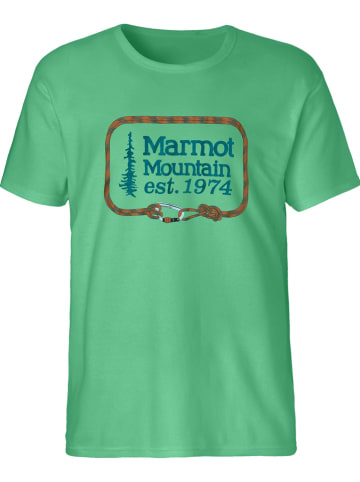 "Marmot Functioneel shirt ""Ascender"" groen"