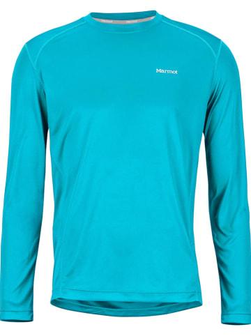 "Marmot Functioneel shirt ""Windridge"" blauw"