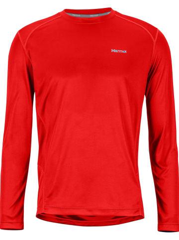 "Marmot Functioneel shirt ""Windridge"" rood"