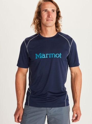 "Marmot Funktionsshirt ""Windridge"" in Dunkelblau"