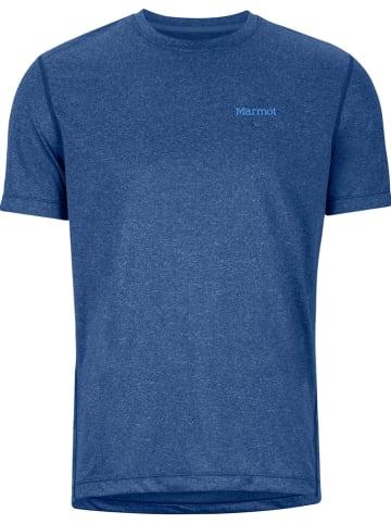 """Marmot Functioneel shirt """"Conveyor"""" blauw"""