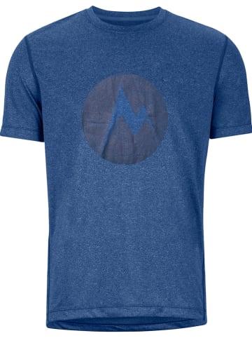 "Marmot Functioneel shirt ""Transporter"" blauw"