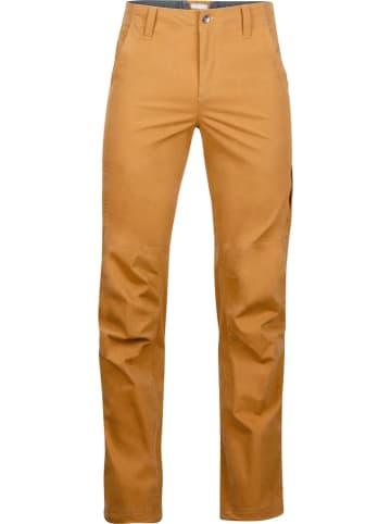 """Marmot Spodnie funkcyjne """"Durango"""" w kolorze jasnobrązowym"""