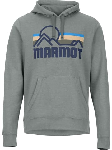"Marmot Sweatshirt ""Coastal"" in Grau"