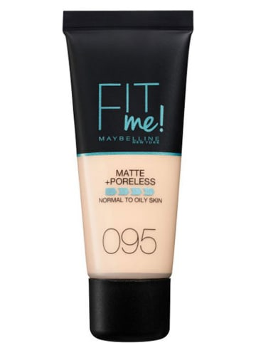 "Maybelline Foundation ""Fit Me Matte + Poreless - 95 Fair Icat"", 30 ml"