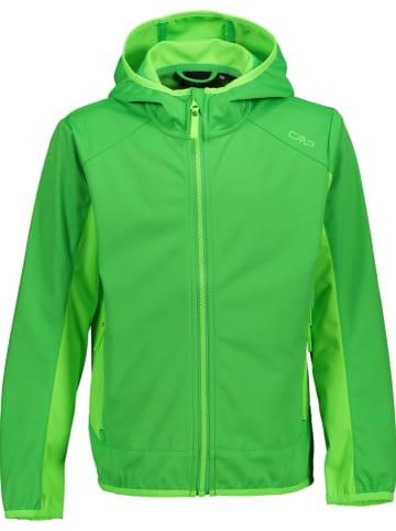 CMP Softshelljas groen