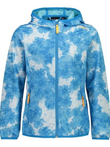CMP Softshelljas lichtblauw