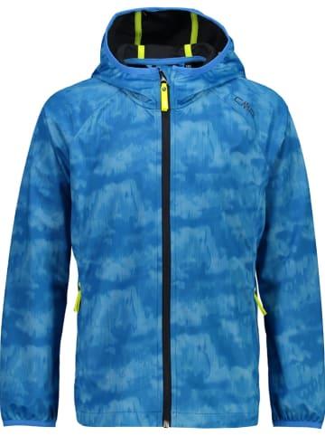 CMP Softshelljas blauw