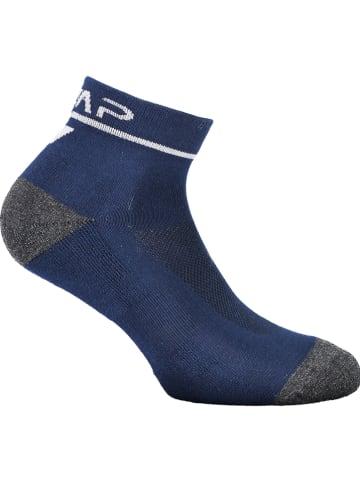 CMP Skarpety w kolorze niebiesko-szaro-białym do biegania