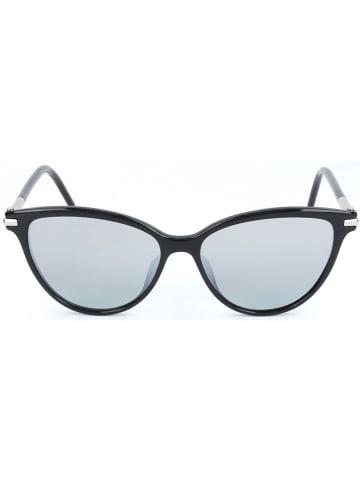 Marc Jacobs Damskie okulary przeciwsłoneczne w kolorze błękitno-czarnym