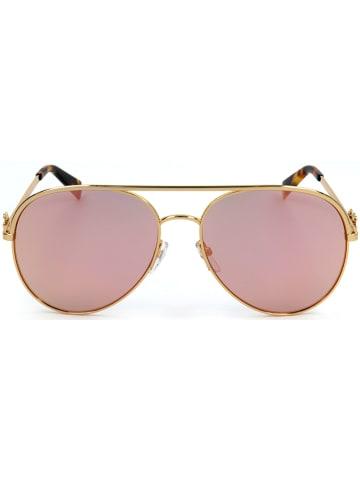 Marc Jacobs Damen-Sonnenbrille in Gold/ Rosa-Grün