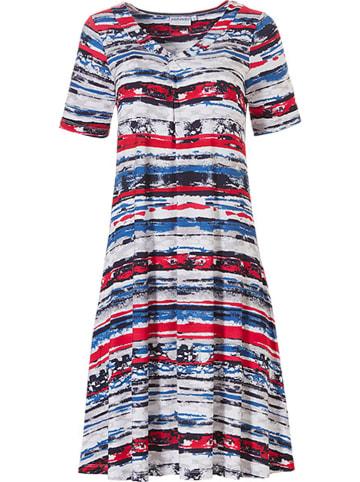 Pastunette Kleid in Rot/ Blau