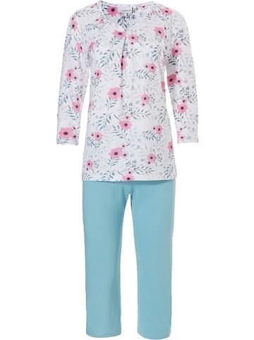 Pastunette Pyjama in Hellblau/ Türkis