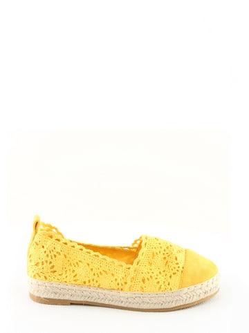 Foreverfolie Espadryle w kolorze żółtym