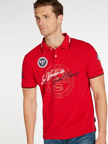 North Sails Poloshirt in Rot