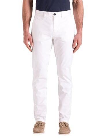North Sails Spodnie chino - Regular fit - w kolorze białym