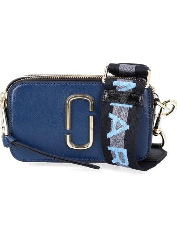 Marc Jacobs Leren schoudertas blauw - (B)18 x (H)11 x (D)6 cm