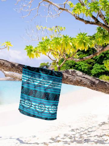 """Calitex Ręcznik plażowy """"Natice"""" w kolorze turkusowym"""