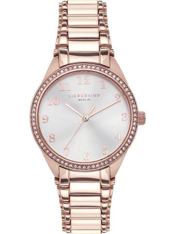 """Liebeskind Zegarek """"EDC-2716"""" w kolorze różowozłoto-srebrnym"""