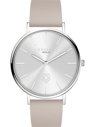 Liebeskind Zegarek kwarcowy w kolorze srebrno-kremowym
