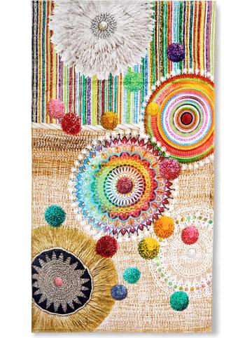 Hip Ręcznik plażowy w kolorze beżowym ze wzorem