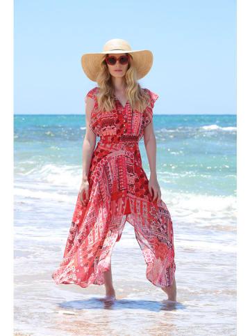 "Chattawak Kleid ""Playa"" in Rot"