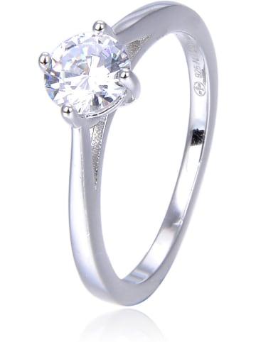 THE CORNER JEWELS Zilveren ring met edelsteen