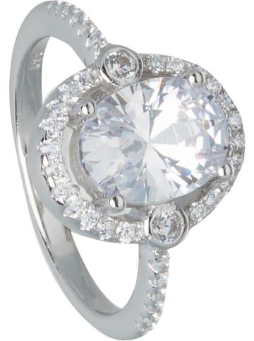 THE CORNER JEWELS Zilveren ring met edelstenen