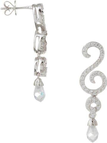THE CORNER JEWELS Zilveren oorstekers met edelstenen