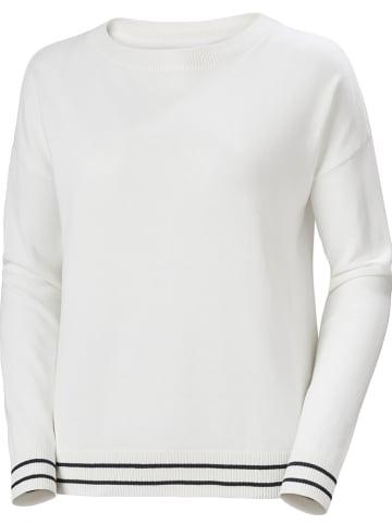 """Helly Hansen Sweter """"Summer"""" w kolorze białym"""