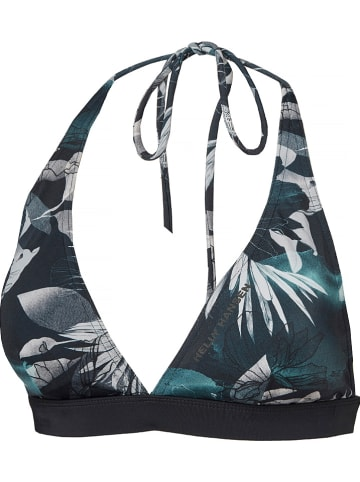 "Helly Hansen Biustonosz bikini ""Waterwear"" w kolorze antracytowo-morskim"