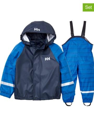 """Helly Hansen 2-delige regenoutfit """"Bergen"""" blauw/donkerblauw"""