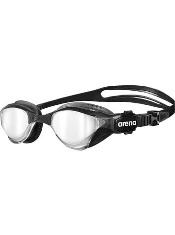 """Arena Okulary """"Cobra Tri Mirror"""" w kolorze czarnym do pływania"""