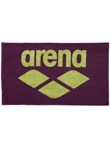 Arena Ręcznik w kolorze fioletowym do rąk - 150 x 90 cm