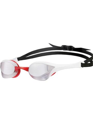 """Arena Okulary """"Cobra Ultra Mirror"""" w kolorze czarno-białym do pływania"""